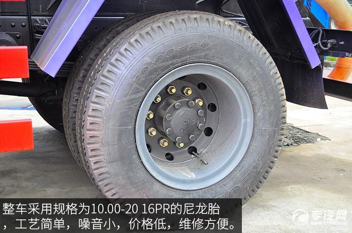 东风153吸污车轮胎