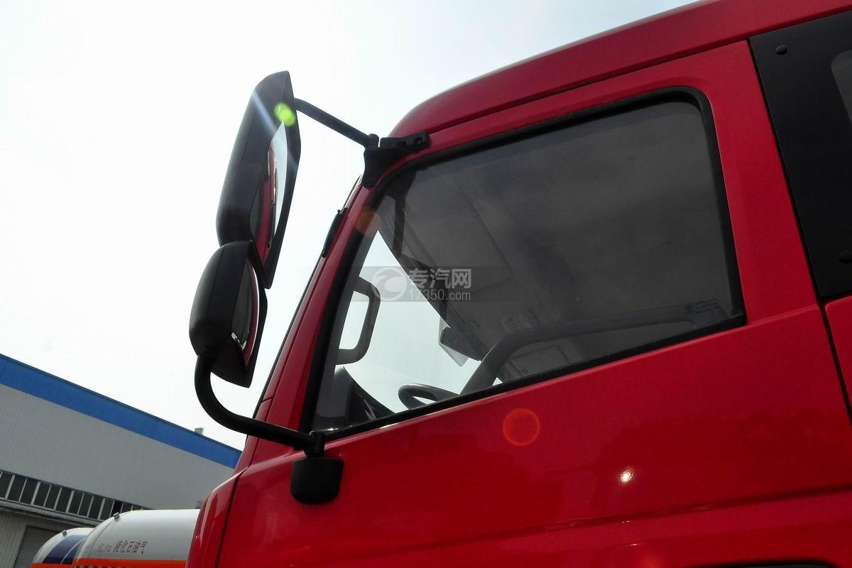 东风专用8吨直臂随车吊后视镜