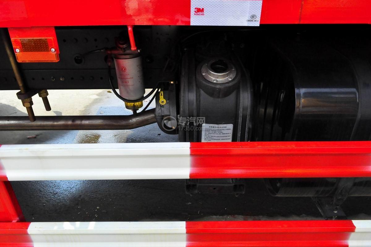 东风专用8吨直臂随车吊尿素罐
