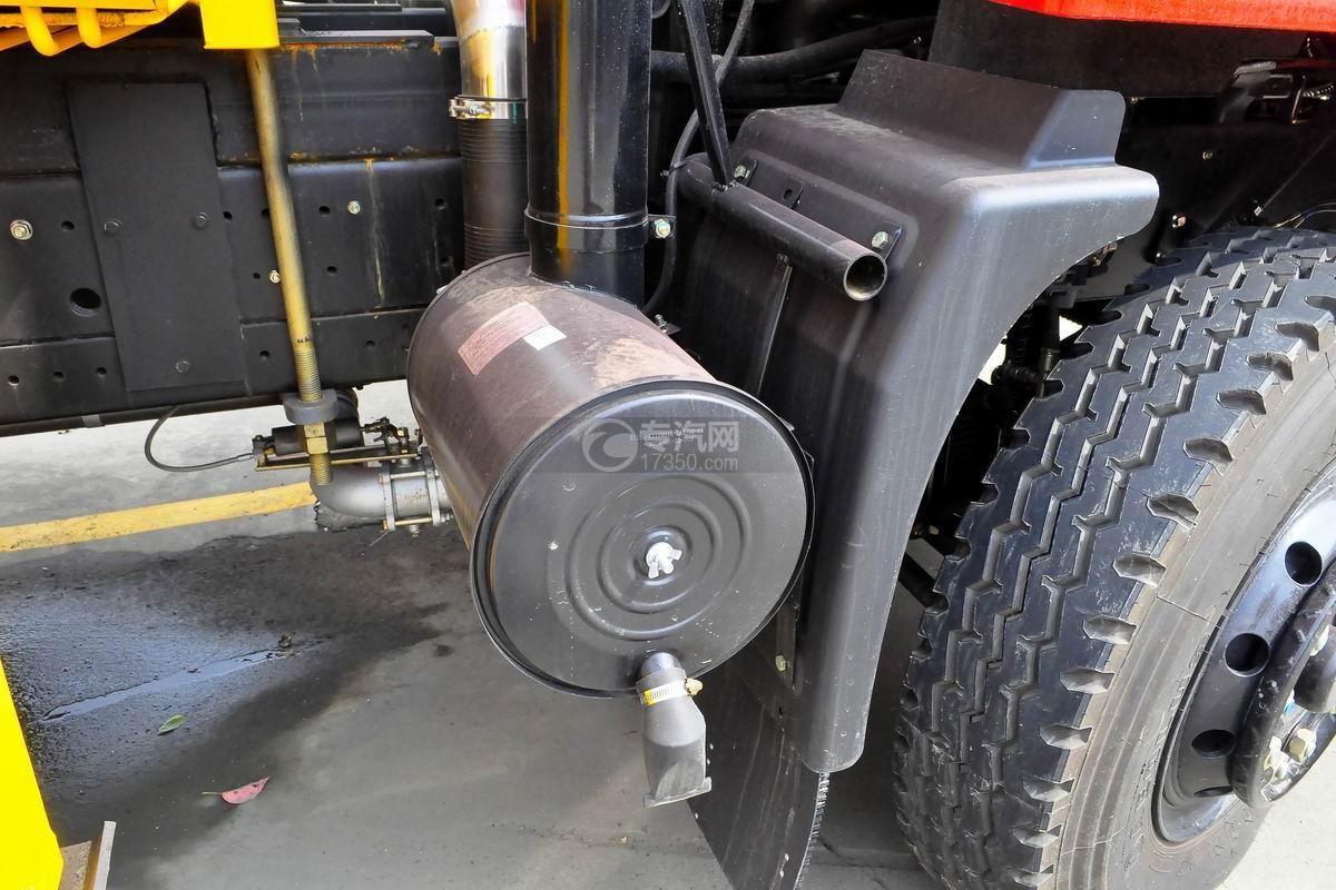 东风专用8吨直臂随车吊空气滤清器