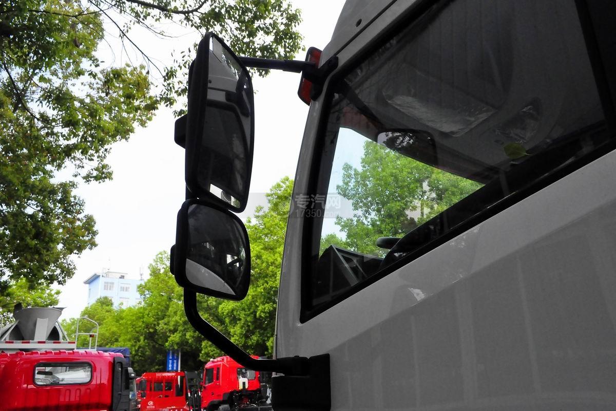 解放龙V单桥平板运输车后视镜