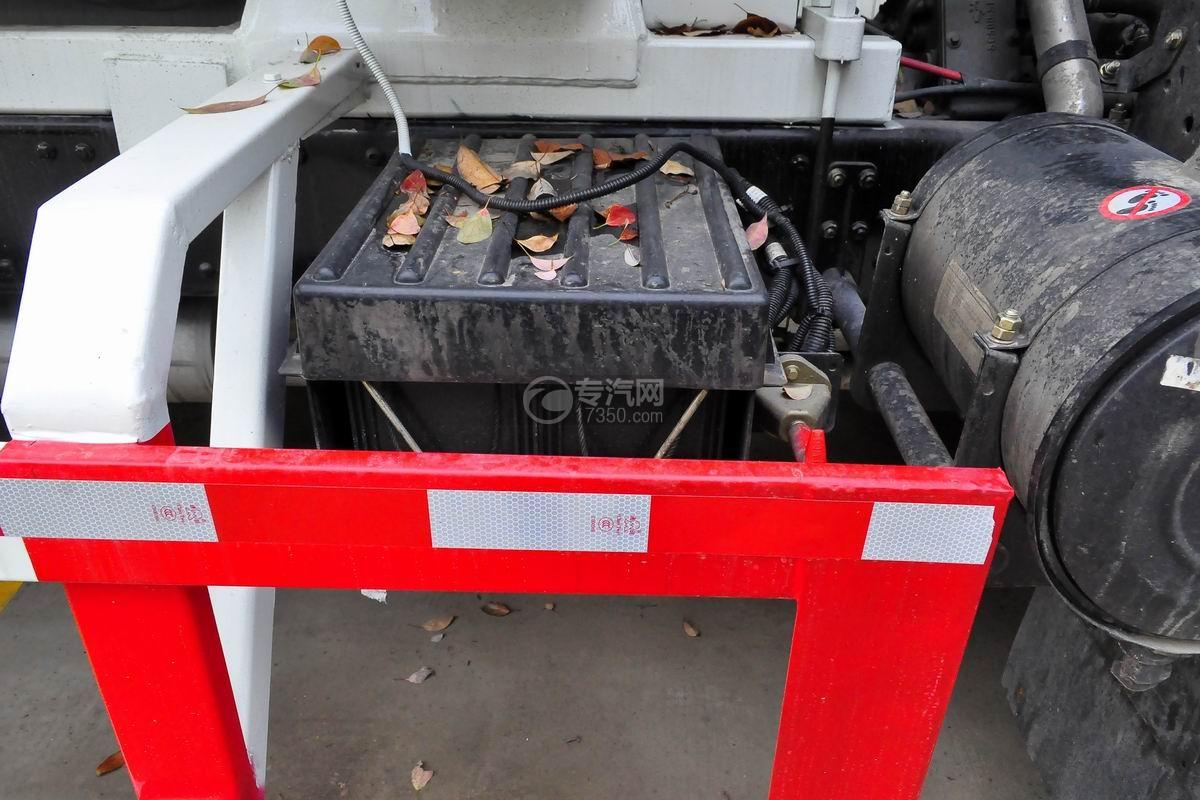 湖北大运运途6方搅拌车蓄电池