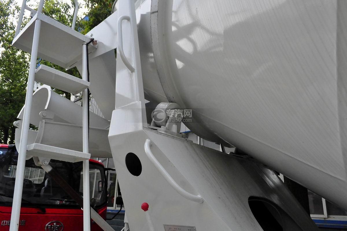 湖北大运运途6方搅拌车托轮