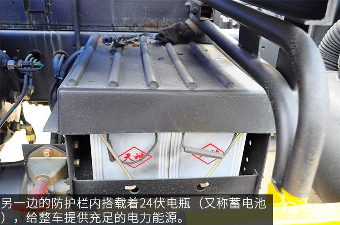 东风145吸污车蓄电池