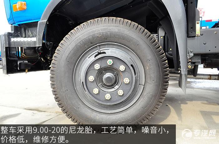 东风145吸污车轮胎
