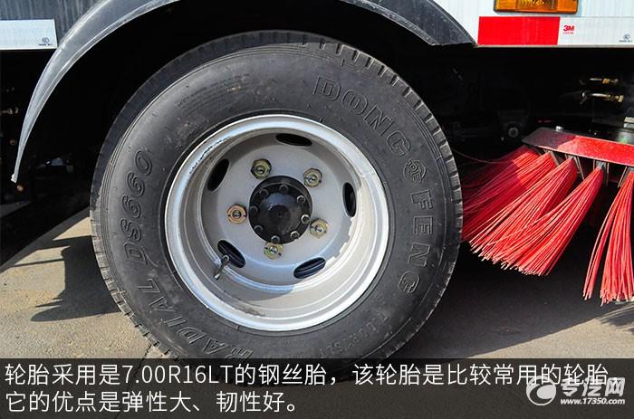 东风多利卡D6扫路车轮胎