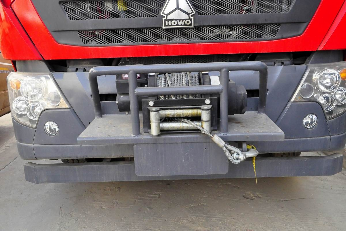 重汽HOWO单桥抢险救援消防车外观细节