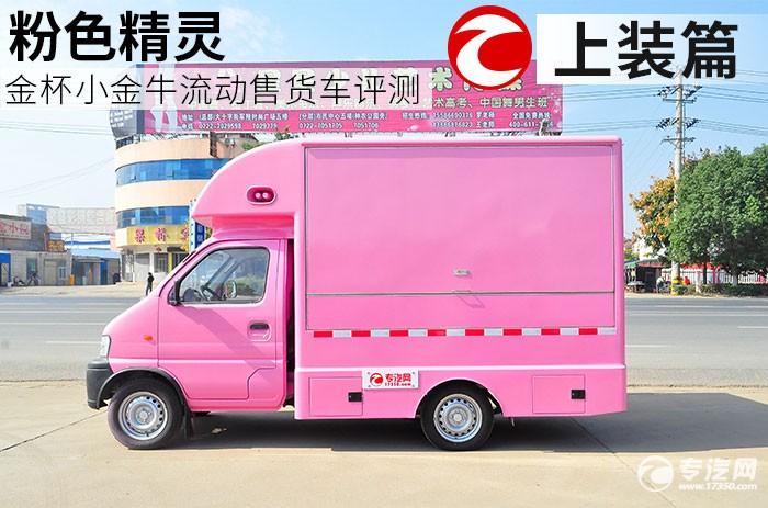 粉色精灵 金杯小金牛流动售货车评测之上装篇