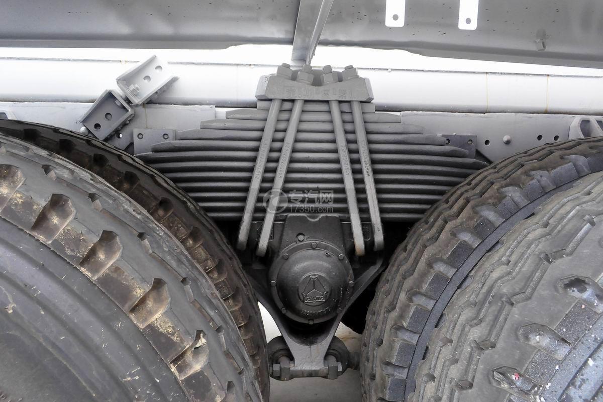 重汽豪沃单桥搅拌车钢板弹簧