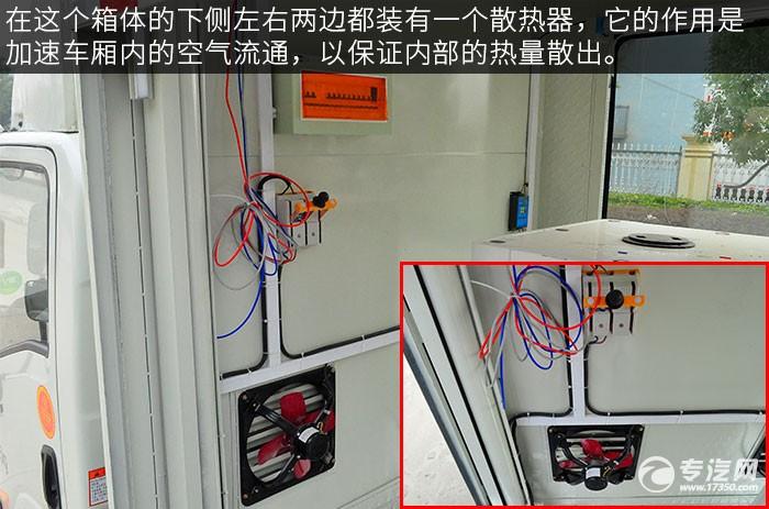 大运奥普力LED广告宣传车散热器