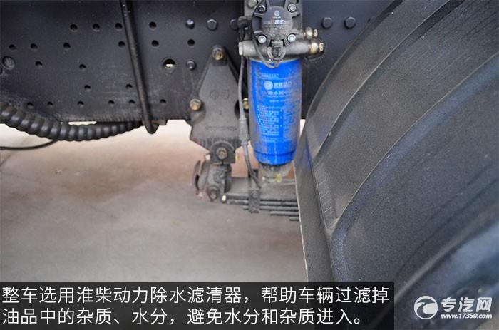 陕汽德龙F3000前四后八380马力自卸车滤清器