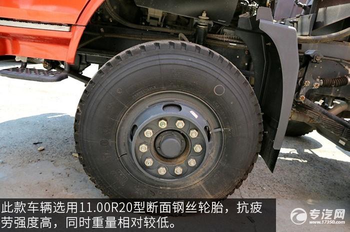 东风特商240马力自卸车轮胎