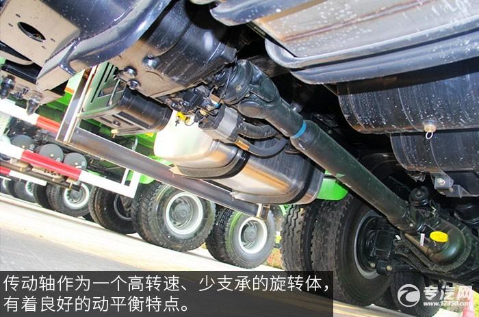 福田欧曼ETX9系336马力自卸车传动轴
