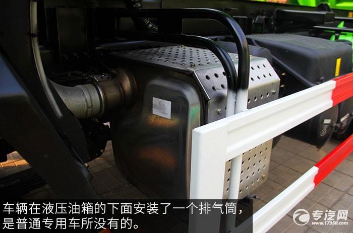 福田欧曼ETX9系336马力自卸车排气筒