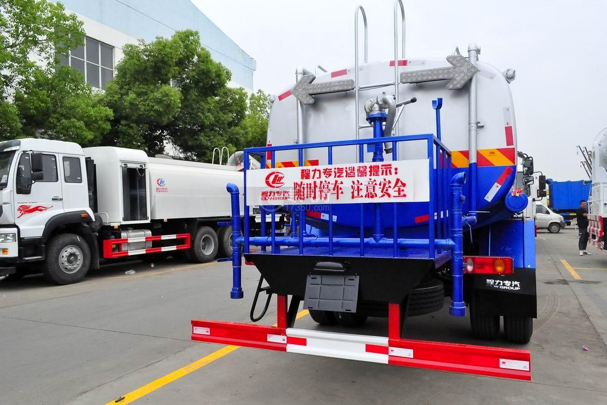 东风专用底盘D3绿化喷洒车右后图