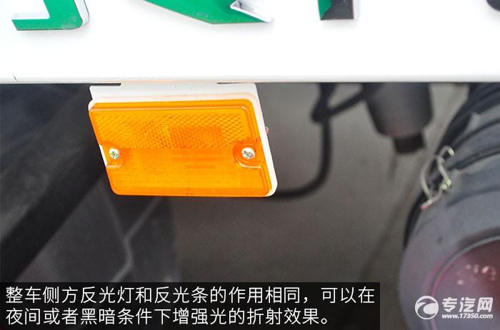 一汽青岛解放虎VH一拖二的清障车评测之外观细节