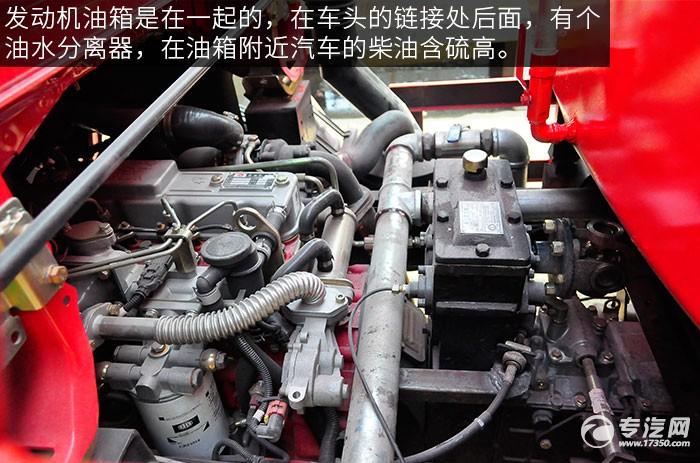 東風多利卡D6單橋水罐消防車發動機