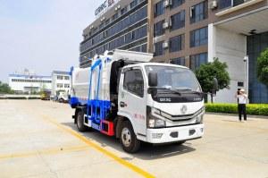 东风多利卡D6国六自装卸式垃圾车图片