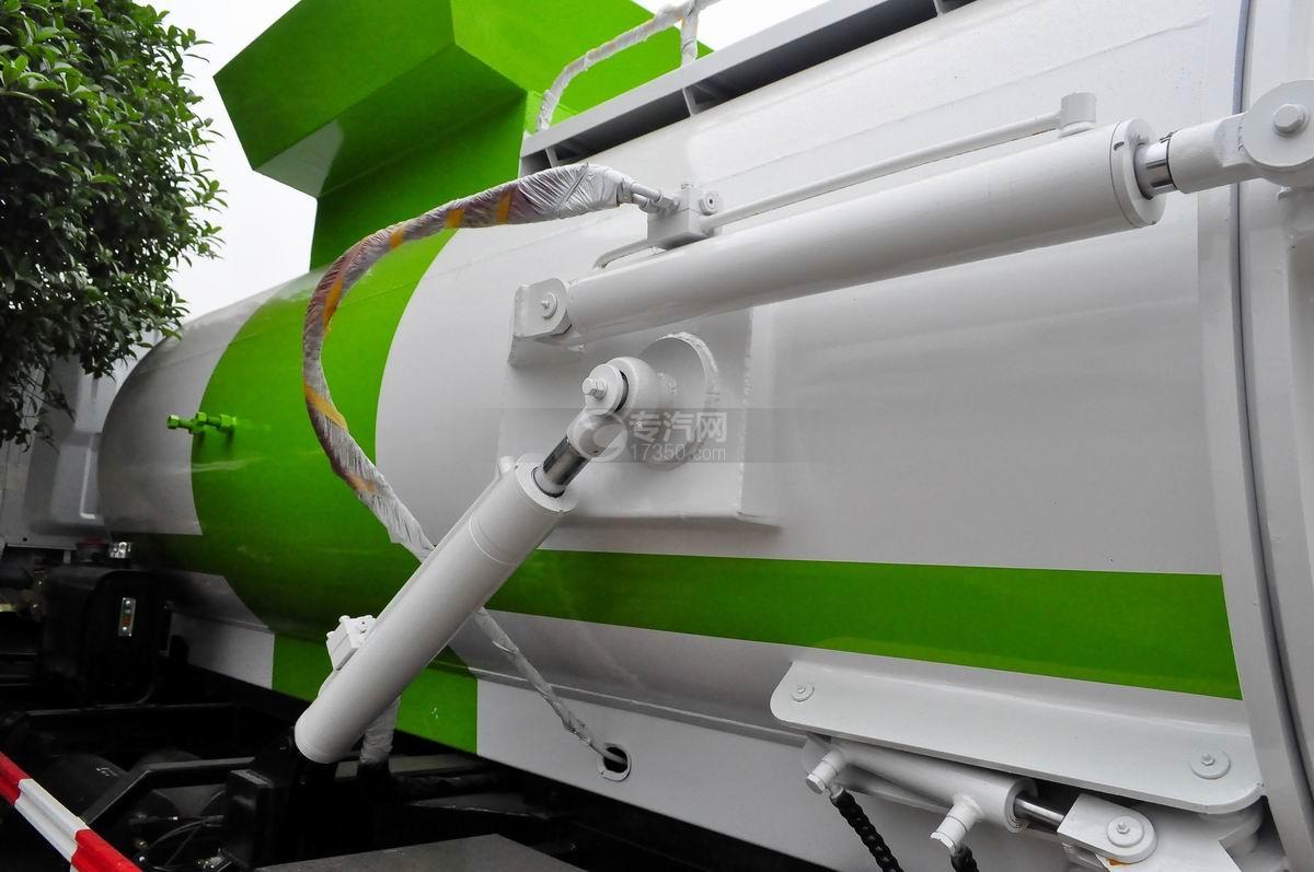 东风多利卡8方餐厨式垃圾车液压油缸