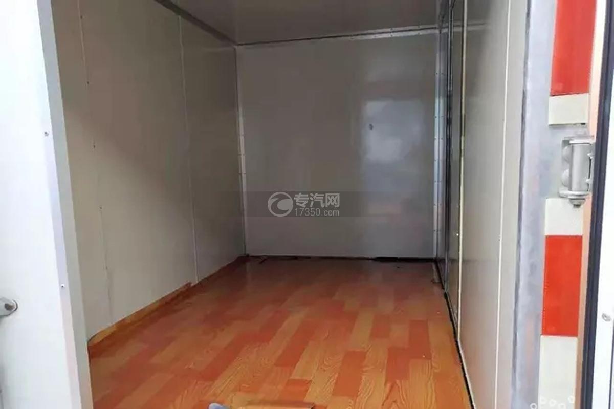 江淮康玲X5单排3.1米厢式货车货箱细节