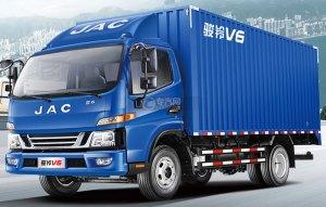 江淮駿鈴V6單橋4.12米廂式貨車圖片