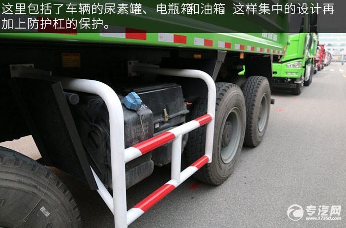 解放J6P重卡 350马力自卸车尿素箱
