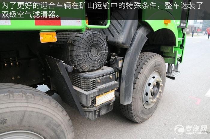 解放J6P重卡 350马力自卸车空滤