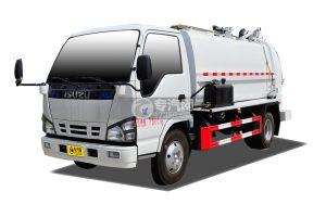 慶鈴五十鈴600P餐廚式垃圾車