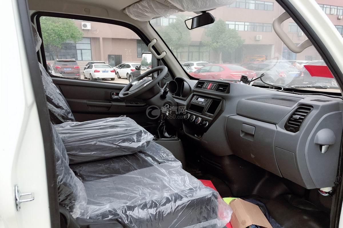 飞碟缔途冷藏车驾驶室