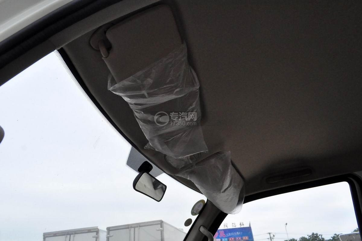 飞碟缔途冷藏车细节