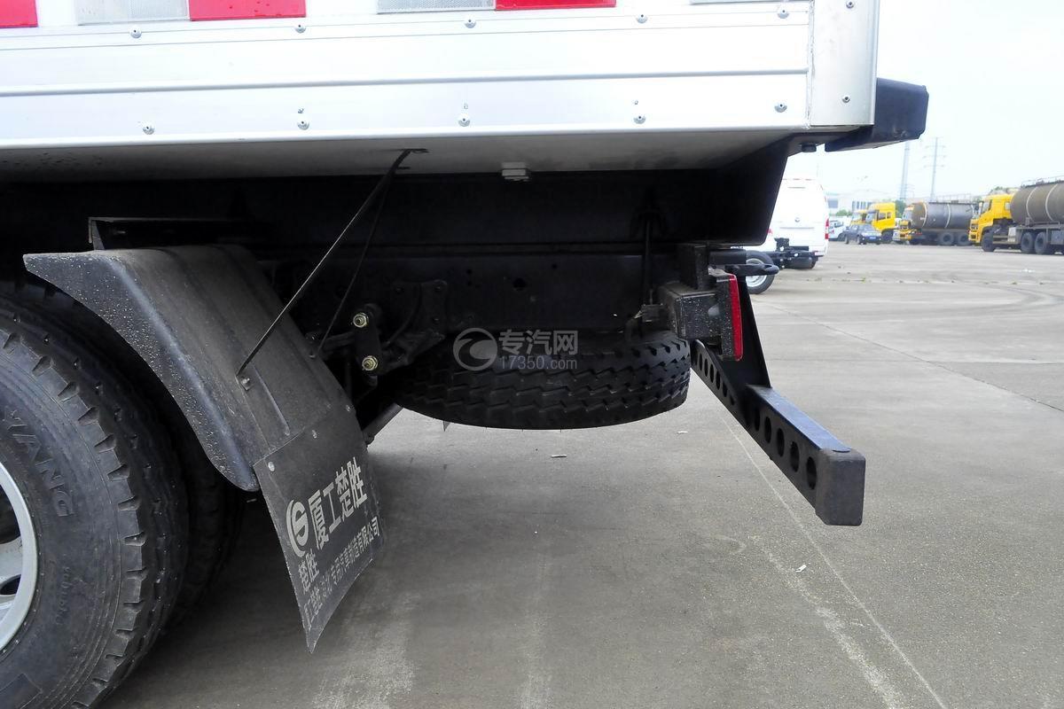 福田奧鈴CTS排半冷藏車備胎