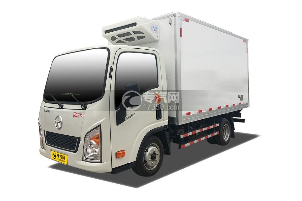 大运奥普力小卡蓝牌3.56米冷藏车