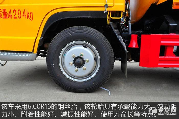 福田时代小卡之星2.31方吸粪车轮胎