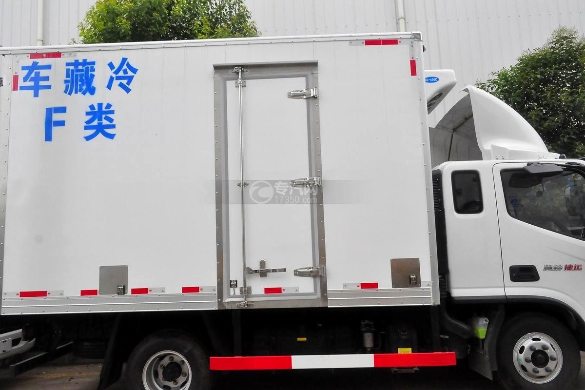 福田奥铃捷运冷藏车侧门
