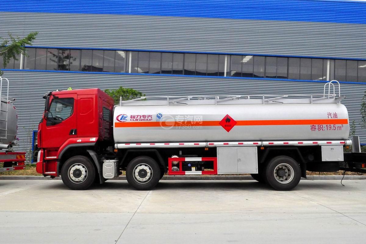 东风柳汽乘龙H5小三轴19.5方运油车左侧图