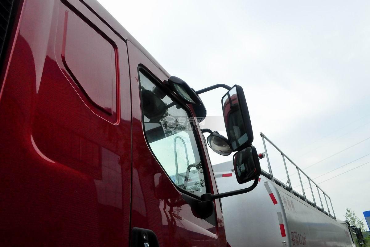 东风柳汽乘龙H5小三轴19.5方运油车后视镜