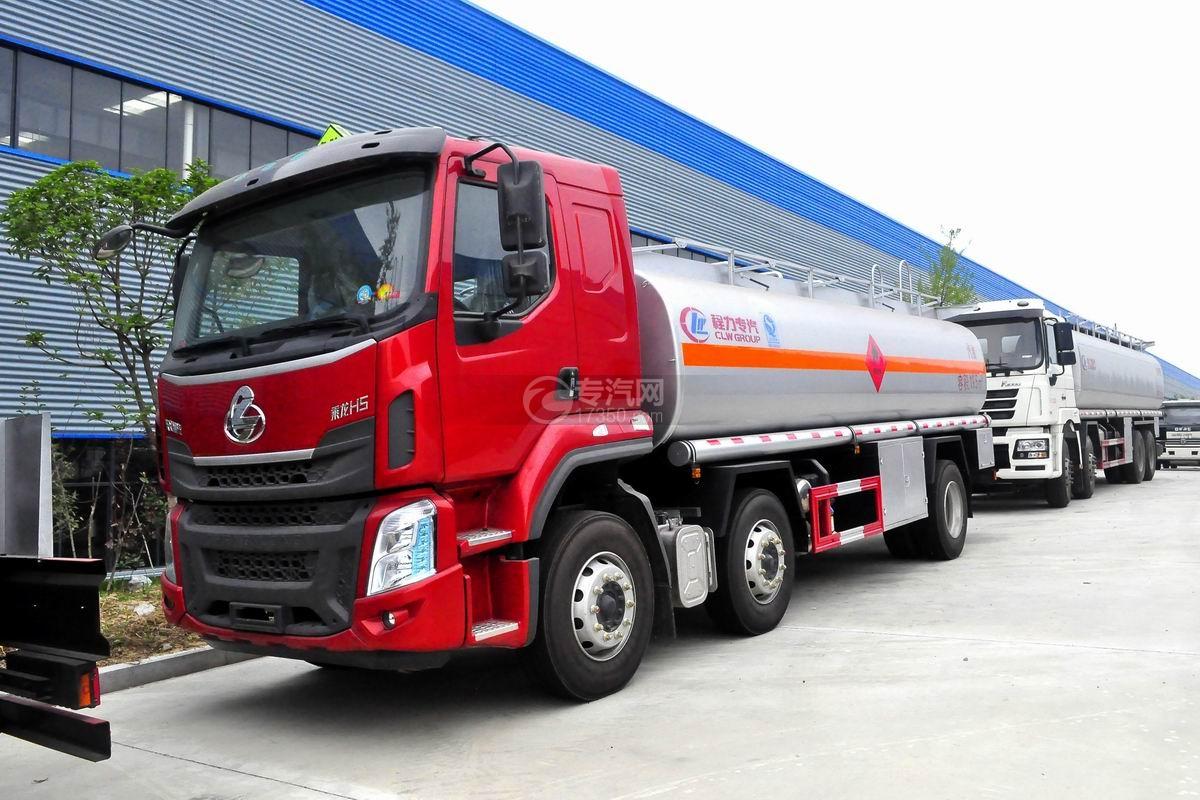 東風柳汽乘龍H5小三軸19.5方運油車