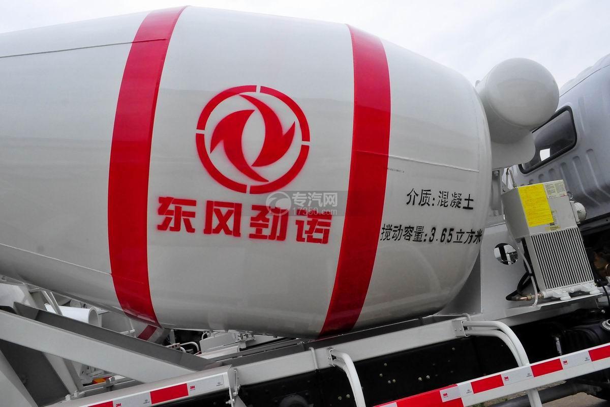 东风劲诺单桥3.65方搅拌车罐体细节