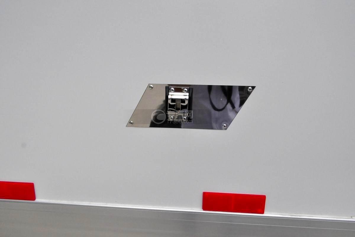 跃进S50单排冷藏车锁孔