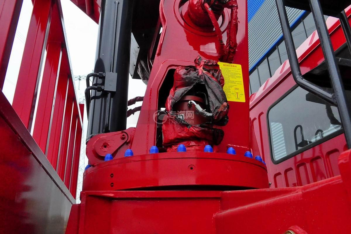 东风锦程V5前四后八20吨直臂随车吊细节
