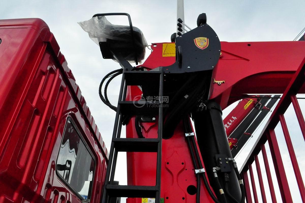 东风华神T5前四后八18吨直臂随车吊上操作椅
