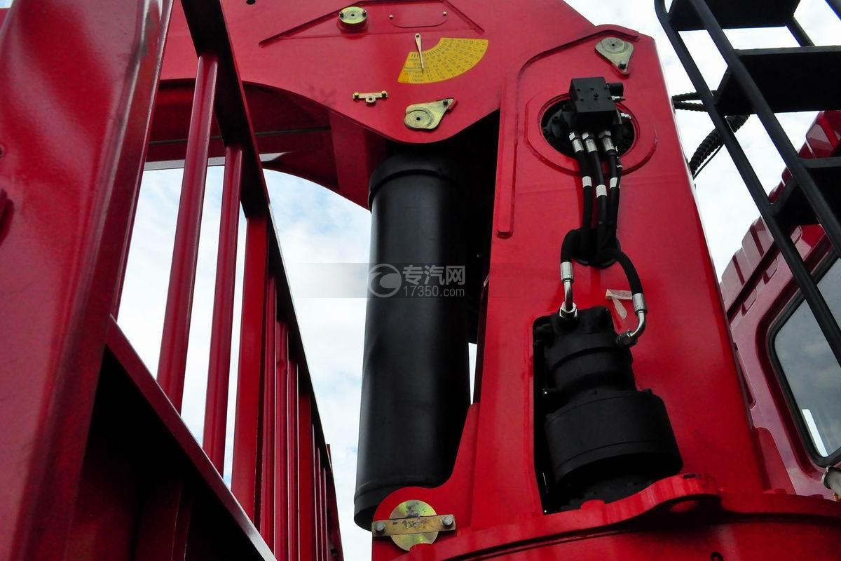 东风华神T5前四后八18吨直臂随车吊油缸