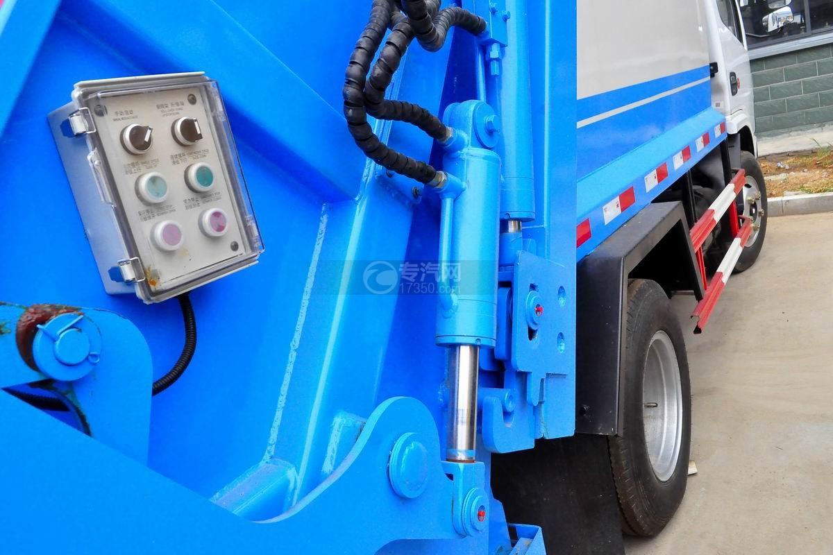 东风多利卡6方压缩式垃圾车液压缸
