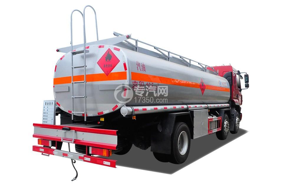 东风柳汽乘龙H5小三轴19.5方运油车右后45度图