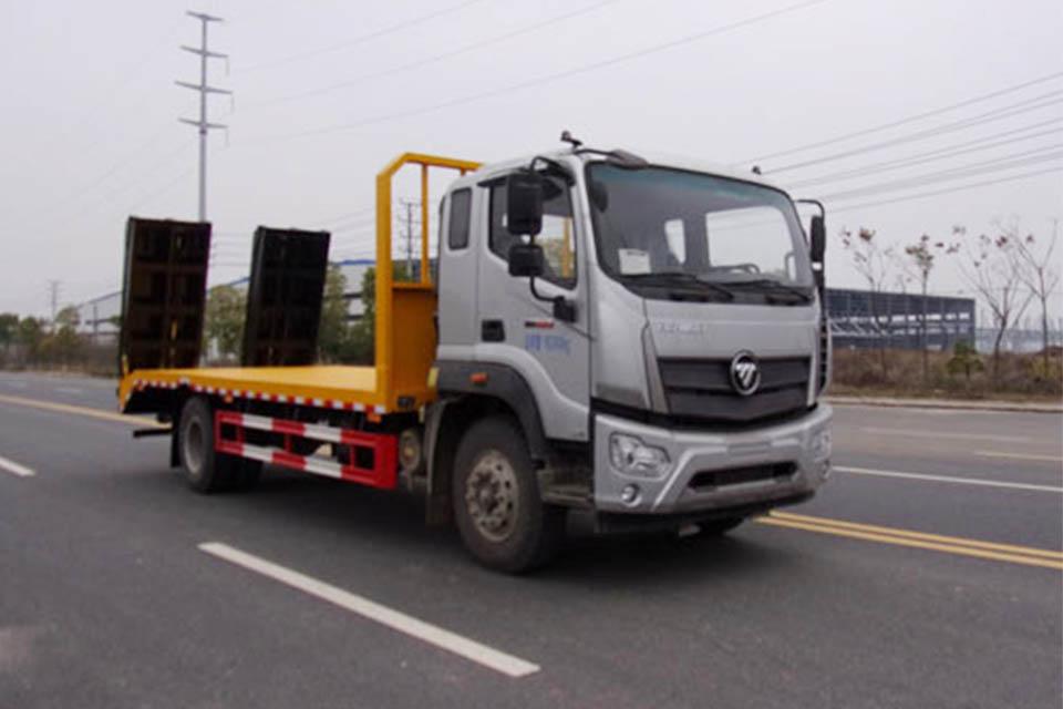 福田单桥国六平板运输车