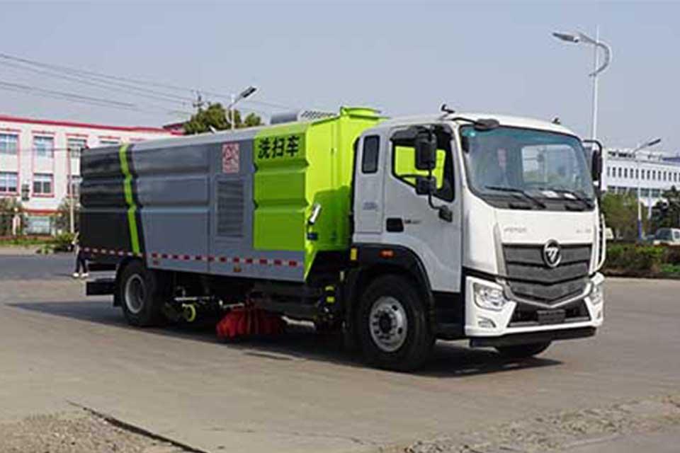 福田S5单桥国六洗扫车