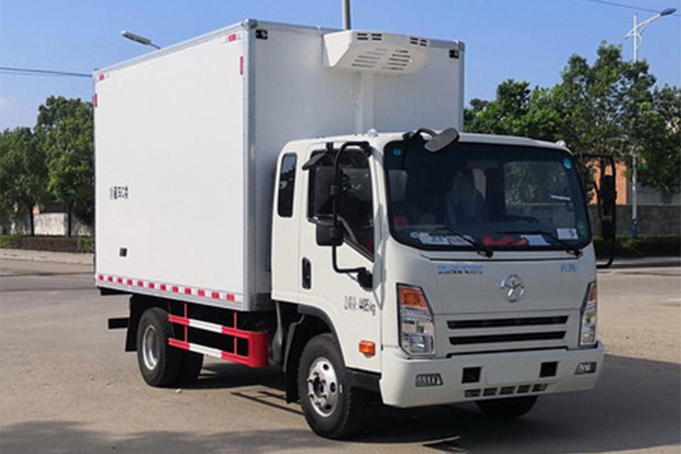 大运奥普力3.7米国六冷藏车