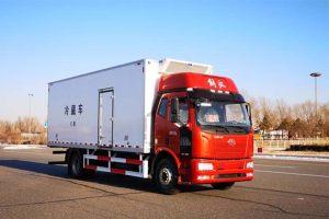 解放J6L國六7.5米冷藏車