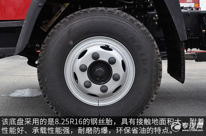 大运祥龙国六183马力3550轴距轻卡轮胎