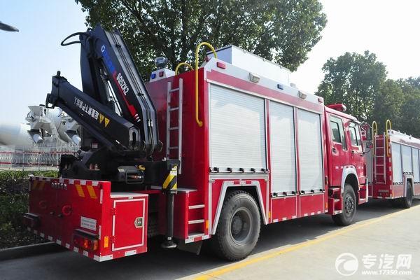 什么是抢险救援消防车?